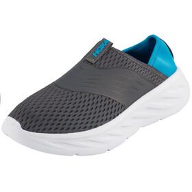 Hoka One One Ora Recovery Shoes Men Ebony/Dresden Blue